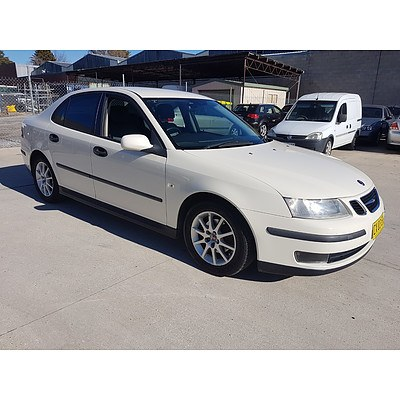 12/2002 Saab 9-3 ARC 2.0T MY03 4d Sedan White 2.0L