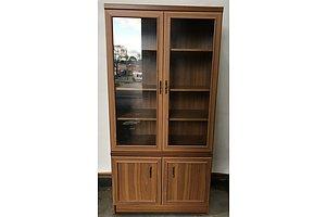 Veneer Display Cabinet