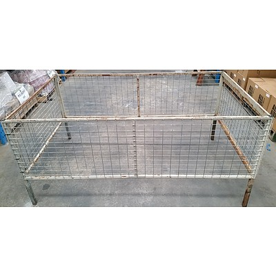 7' x 4' Trailer Cage