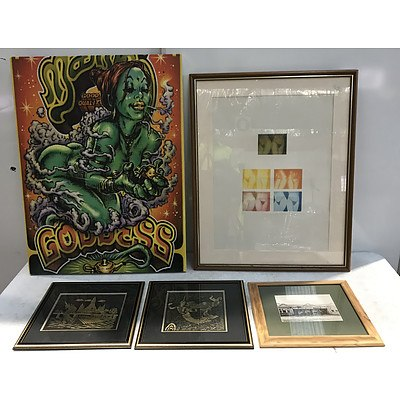 Framed Prints and Photos -Lot Of 8