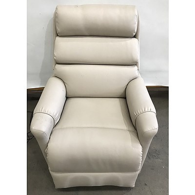 Topform Faux Leather Electric Lift Chair