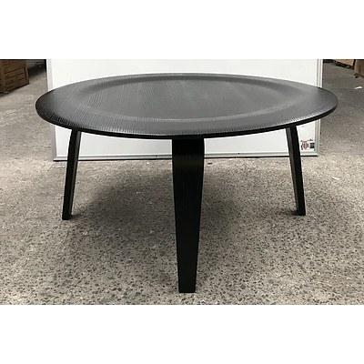 Replica Eames Black Veneer Coffee Table