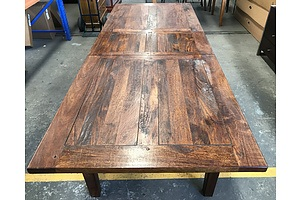 Hardwood Extension Dining Table