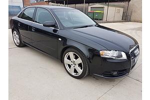 7/2006 Audi A4 1.8T S-line B7 4d Sedan Black 1.8L