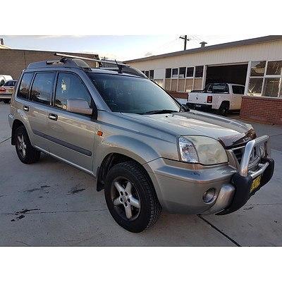 9/2003 Nissan X-trail ST-R (4x4) T30 4d Wagon Grey 2.5L