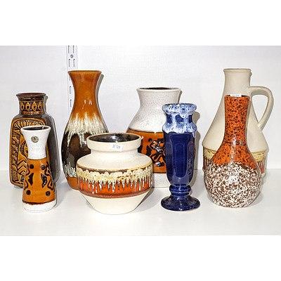 Large Group West German Ceramics