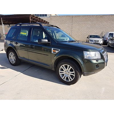 5/2008 Land Rover Freelander 2 HSE (4x4) LF MY08 4d Wagon Green 2.2L