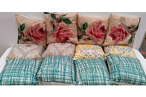 Lot Of 12 Assorted Cushions