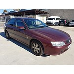 1/2003 Holden Commodore Acclaim VY 4d Sedan Red 3.8L
