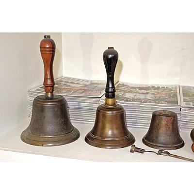 Three Antique Bells