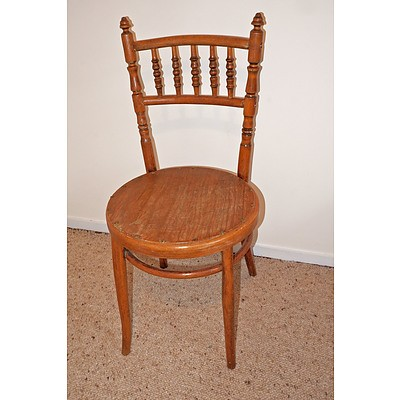 Antique Bentwood Chair