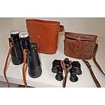 Hensoldt Wetzlar and Kraft Binoculars