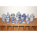 Collection of Asian and Other Blue and White Ceramics