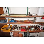 Large Collection of Various Hand Tools, Small Hardware Etc