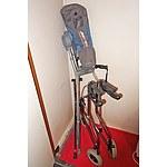 Various Mobility Aids, Walker, Oxygen Cylinder Bag, Etc