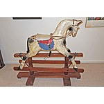 Suberb Very Large Rocking Horse, Probably F Roebuck, Leichhardt