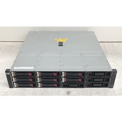 HP StorageWorks (AG638B) 12 Bay Hard Drive Array