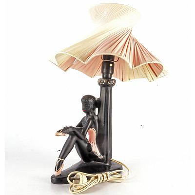 Genuine Barsony Ballerina Lamp and Shade