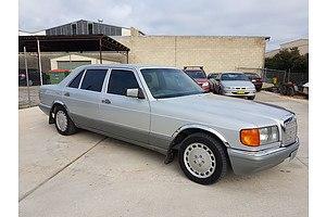 5/1990 Mercedes-Benz 300 SEL W126 4d Sedan Silver 3.0L