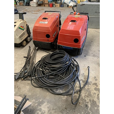 Jetwave TK100/12M Pressure Washers - Lot of Two