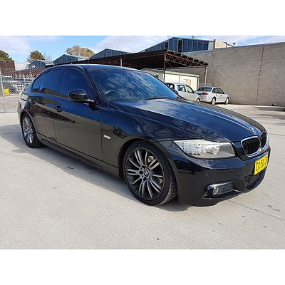 1/2009 Bmw 3 20i Executive E90 MY09 4d Sedan Black 2.0L