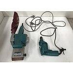 Makita Belt Sander and Power Drill