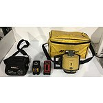 Laser Levels Including Topcon -Lot Of Three