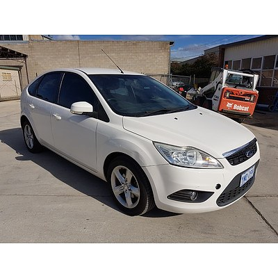 4/2009 Ford Focus TDCi LV 5d Hatchback White 2.0L