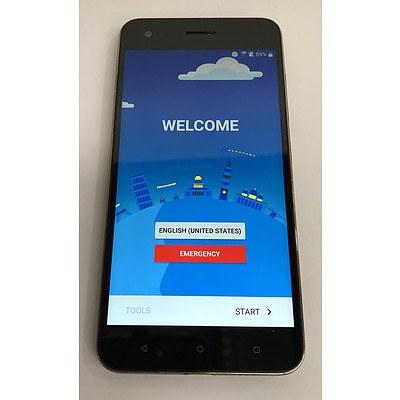 HTC (2PYA200) LTE Black Touchscreen Mobile Phone