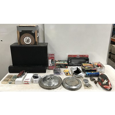 Assorted Homewares And Vehicle Accessories