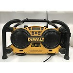 Dewalt heavy Duty Work Site Radio/Charger