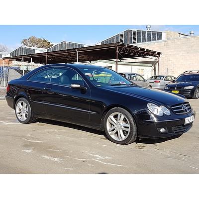 4/2006 Mercedes-Benz Clk280 Avantgarde W2O3 MY06 2d Coupe Black 3.0L