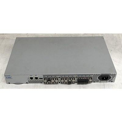 EMC2 (100-652-541) Connectrix DS-300B 24-Port 8Gb Fibre Channel Switch