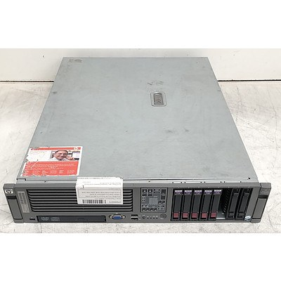 HP ProLiant DL380 G5 Dual Quad-Core Xeon (X5460) 3.16GHz 2 RU Server