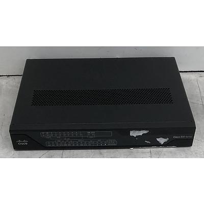 Cisco (C897VAG-LTE-GA-K9 V01) 800 Series Router