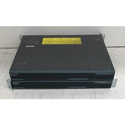 Cisco ASA5510 V03 & ASA5510 V06 Adaptive Security Appliances - Lot of Two
