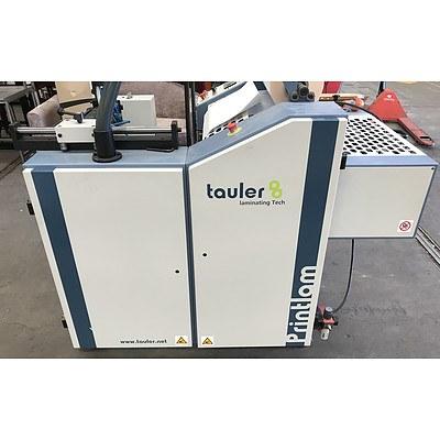 Tauler Printlam Laminating Machine And Accessories