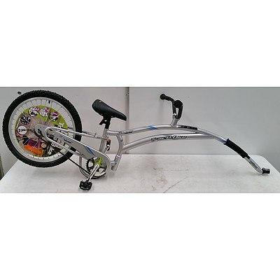 Adams Folder Trail-a-bike Silver