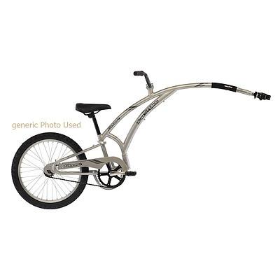 Adams Folder Trail-a-bike Silver - New - ORP $500+