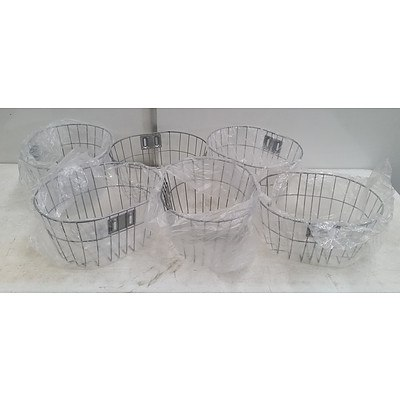 Bicycle Front Baskets Lot Of Six