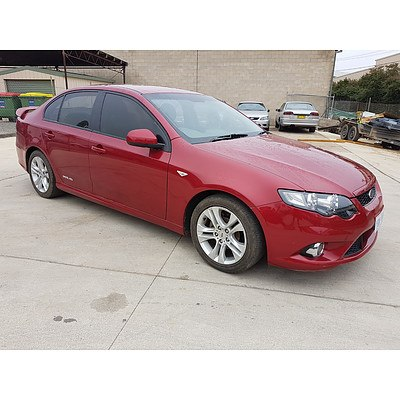 4/2009 Ford Falcon XR6 FG 4d Sedan Red 4.0L