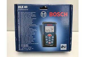 Bosch Laser Distance Measuring Tool