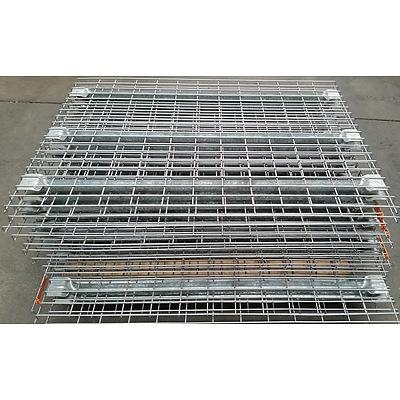 1305mm Manta Mesh Pallet Racking Shelves - Lot of 12