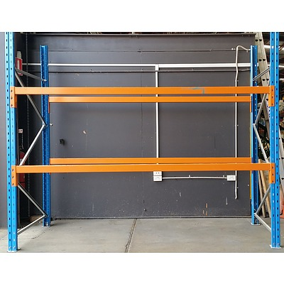 Four Bays Of Dexion Pallet Racking