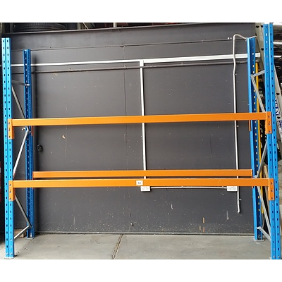 Two Bays Of Dexion Pallet Racking