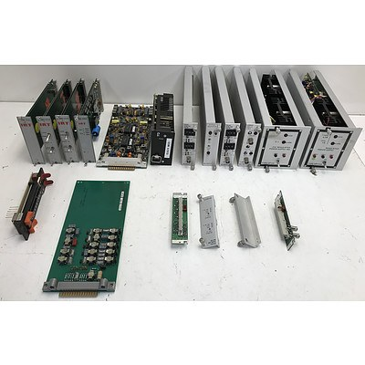 Lot Of Assorted AV Modules and Components