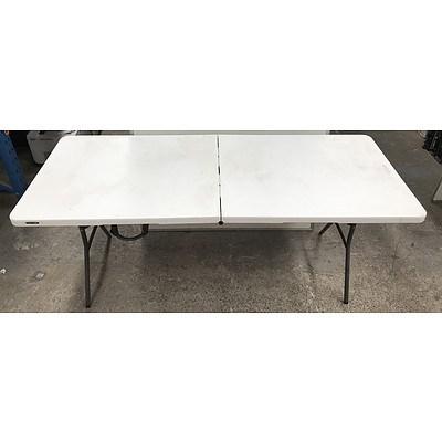 Lifetime 6M Folding Trestle Table