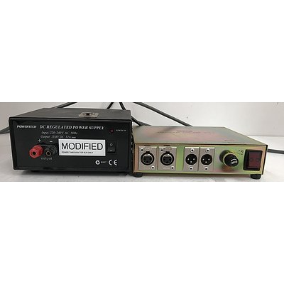 Sedco Balancing Amplifier and Powertech Power Supply