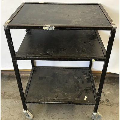 Three Tier Mobile Trolley