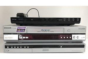 LG Panasonic and Soniq DVD Systems